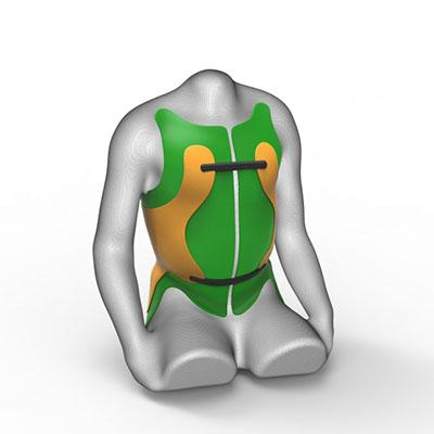 Softbrace Rückenorthese zur Rumpfkontrolle vom Sanitätshaus rahm