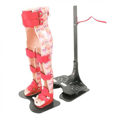 Lagerungs- und Stehorthese zur Behandlung von Spina Bifida vom Sanitätshaus rahm