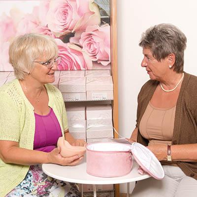 Brustversorgung, Beratung nach einer Brustamputation Sanitätshaus rahm