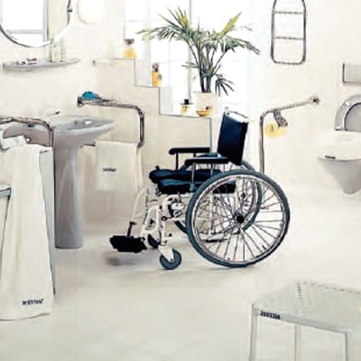Hilfsmittel fuer Bad und WC aus dem Sanitaetshaus