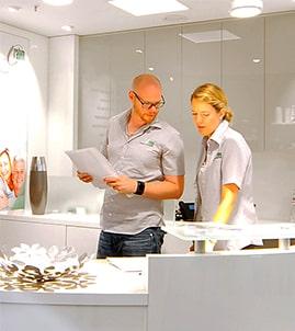 Arbeiten als Fachberater im Sanitaetshaus in Koeln, Bonn, Euskirchen, Bad Honnef, Bad Neuenahr, Leverkusen, Linz, Wesseling, Koblenz