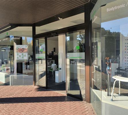 Sanitätshaus Solingen - rahm Eingang
