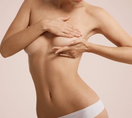 Brustabtasten zur Brustkrebsvorsorge