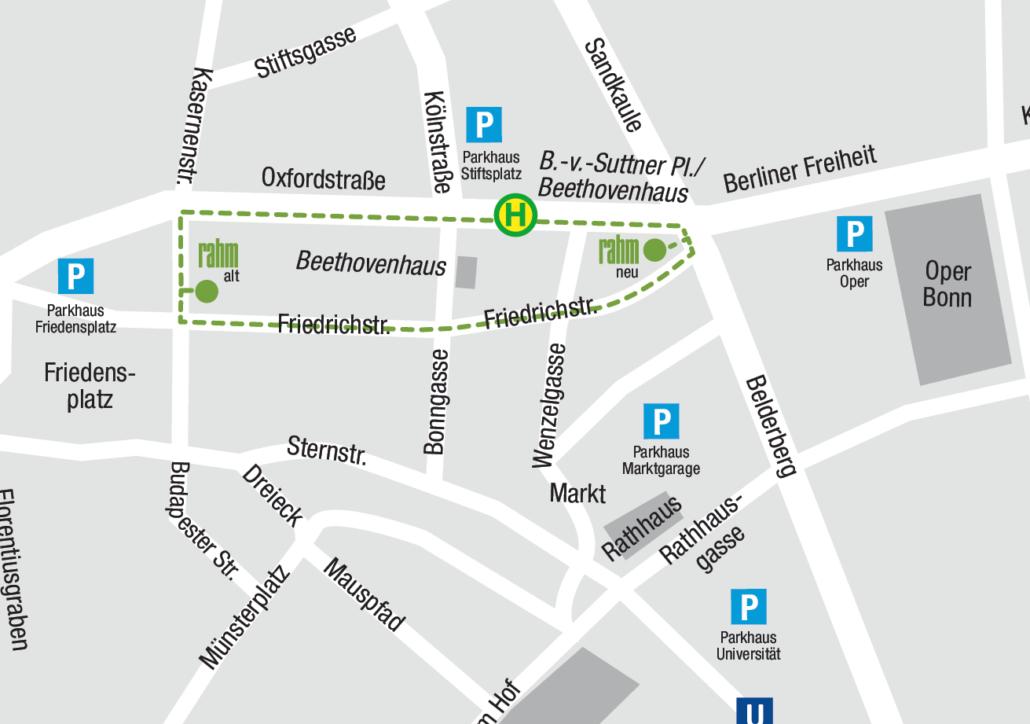 Sanitätshaus Bonn Bonn Innenstadt - Ihr Weg zu uns