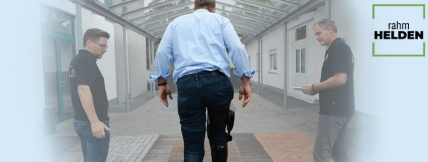 rahm zentrum für gesundheit modernes sanitätshaus versorgung C-Brace rahmheld rahmhelden orthese beinorthese