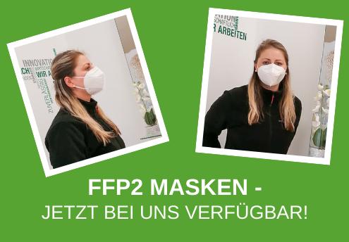 FFP2 Masken - Jetzt bei uns Verfügbar!