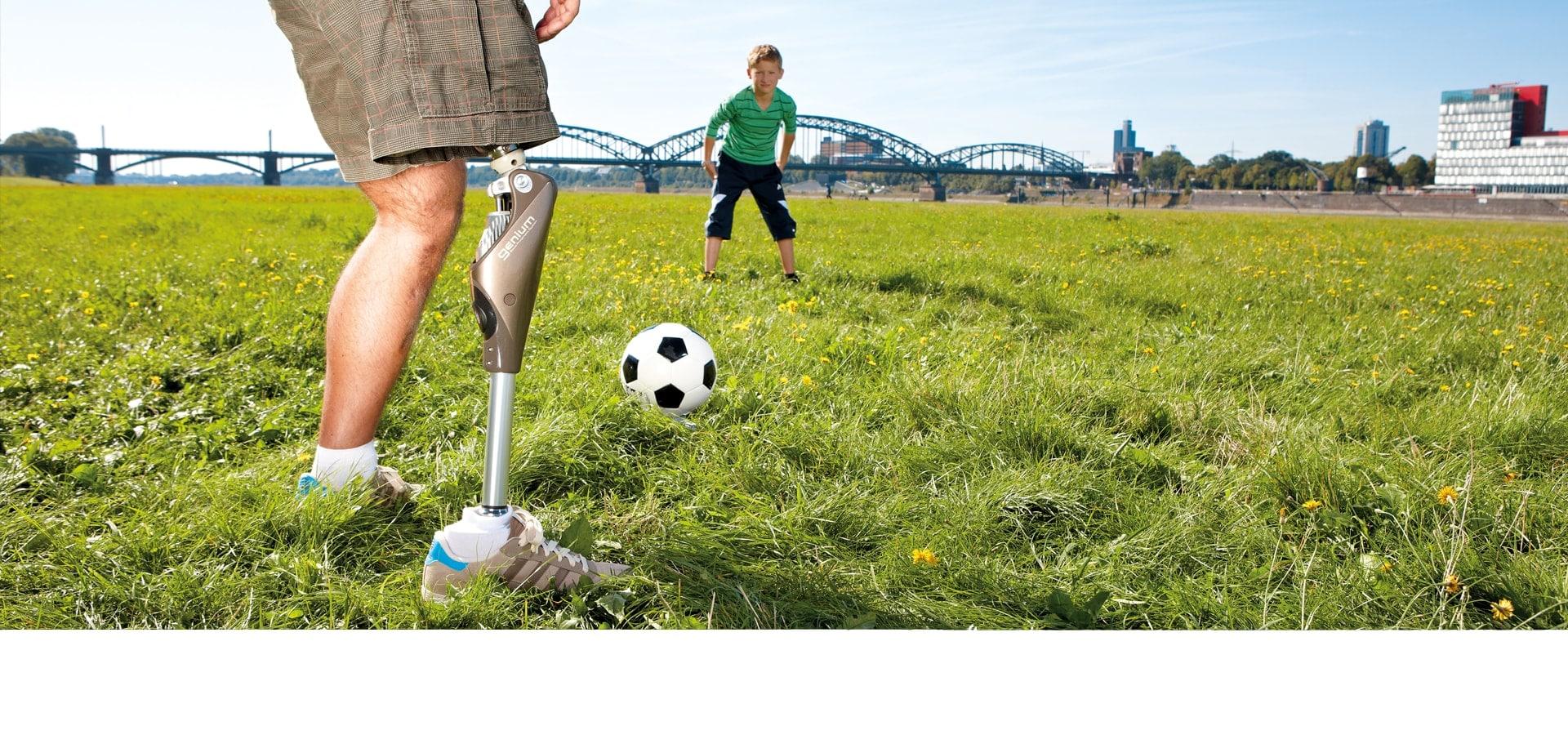 Prothesenversorgung beim Saniaetshaus rahm Zentrum fuer Gesundheit