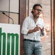 Dr. Abu-Nasir in seinem Vortrag über das Lymphödem