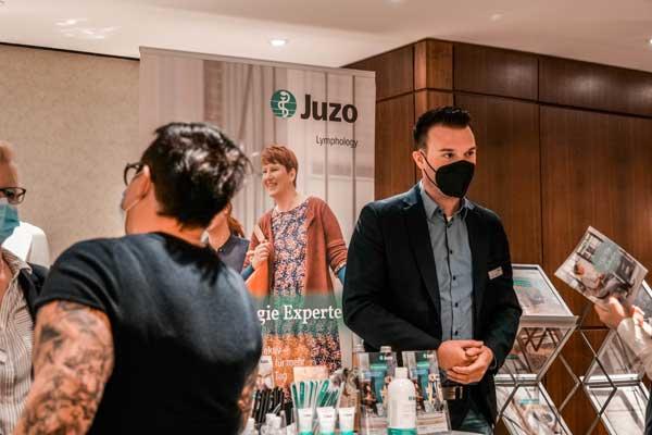 Das Team der Juzo GmbH war auch vor Ort