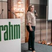 Frau Rodenbach auf dem rahm Lip/Lymph-Symposium